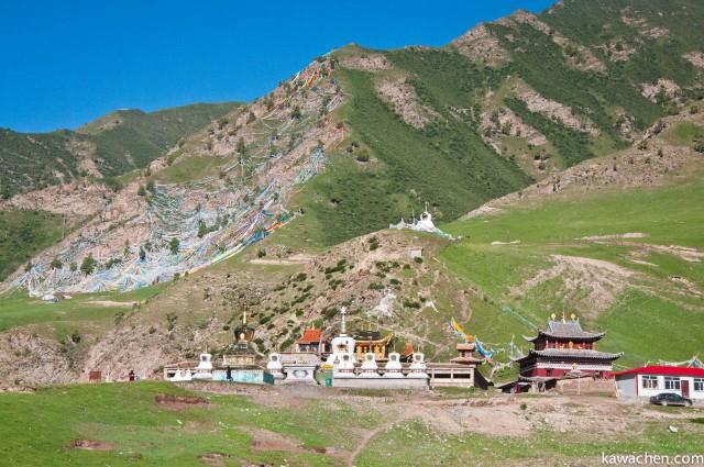 монастырь и место тибетских небесных захоронений