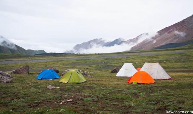 лагерь в облаках