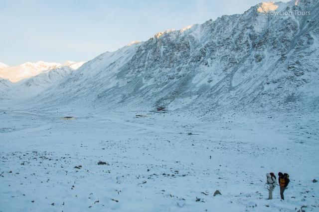 Подъем на перевал Долма ла