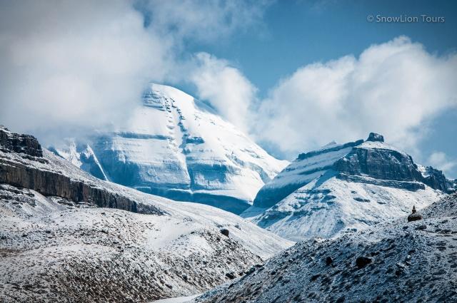 Южное лицо Кайласа и гора Нанди - начало внутренней коры